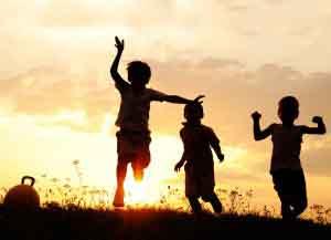 kids jumping on Luxury Hotels Ireland tourist attractions destinations
