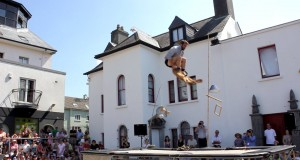 max and his trousers at galway Arts Festival on Luxury Hotels Ireland