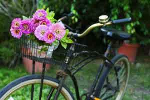 Bike on Luxury hotles Ireland
