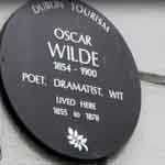 oscar wilde plaque on Luxury Hotels Ireland tourist attractions