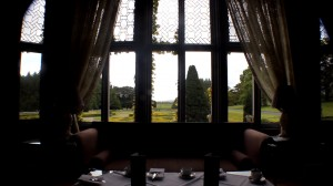 Adare aftrnoon tea window seat on luxury hotels ireland